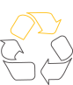 Image of recycling symbol representing a commitment to increasing waste recycling as part of Commonwealth Bank's new five year Sustainable Property Strategy