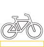 Image of a bike representing a commitment to increasing end of trip facilities as part of Commonwealth Bank's new five year Sustainable Property Strategy