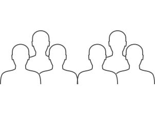 Image of a group of people in silhouette representing Commonwealth Bank lending professionals trained on ESG
