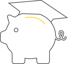 Image of a piggy bank representing Commonwealth Bank of Australia's School Banking program