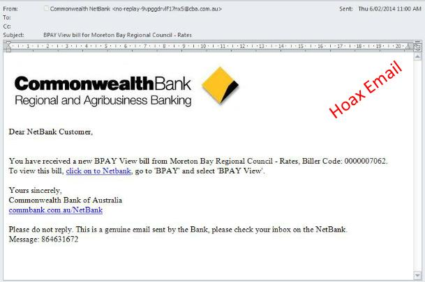 Hoax email 2