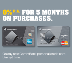 Platinum credit card offer